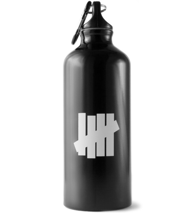 Black 10 Years Aluminum Bottle