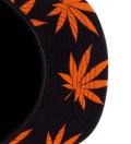 Black/Orange Plantlife Volley Cap
