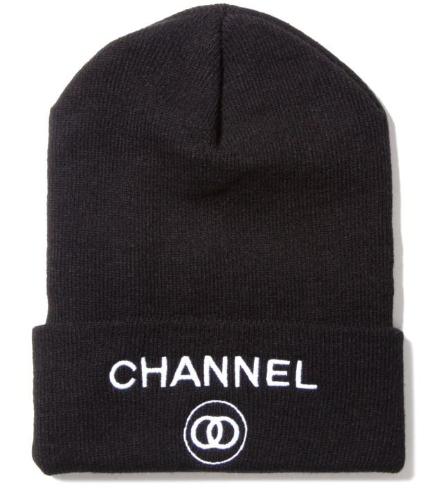 Charcoal Channel Zero Beanie