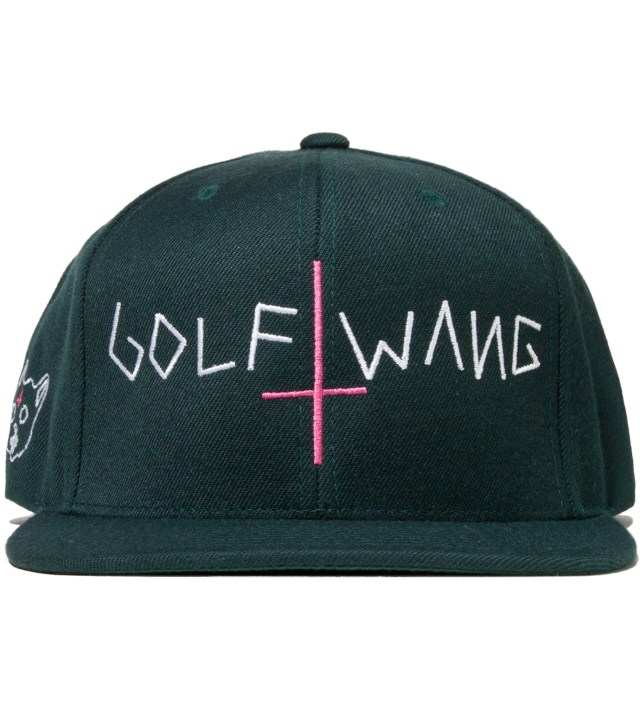 Green Golf Wang Cap