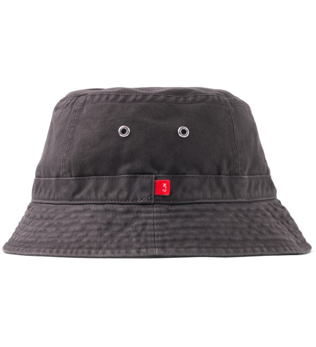"Stussy x The Heartbreakers Grey ""James"" Canvas Jungle Hat"