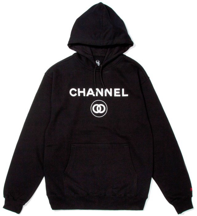 Black Channel Zero Hoodie