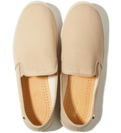 Rivieras Beige Trench Shoes Model Picutre