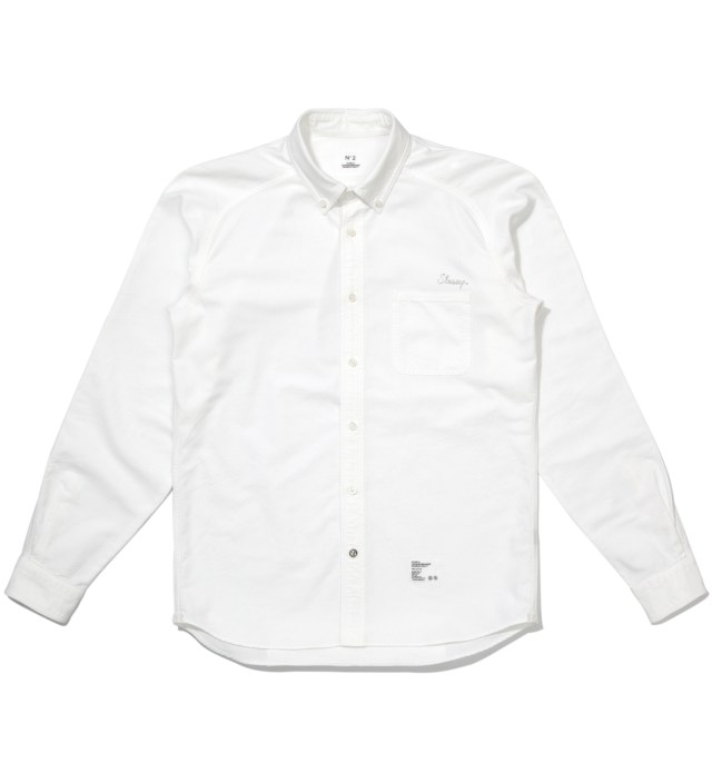 "Stussy x The Heartbreaker White B.D. ""Francesco"" Shirt"
