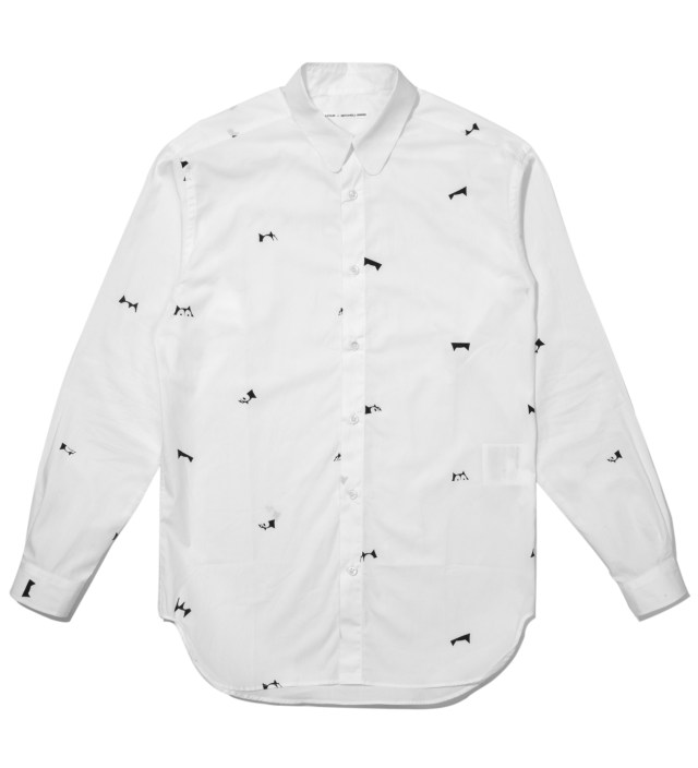 White Happy Accident Felix Culpa Mini Head Shirt