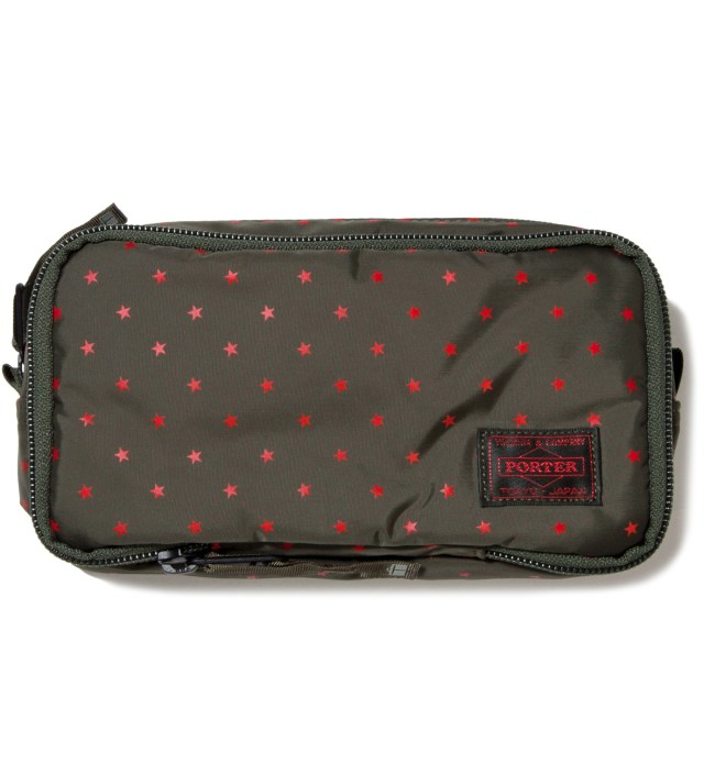 Olive Stellar Cosmetic Case