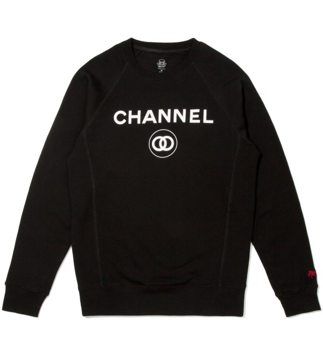 Black Channel Zero Crewneck