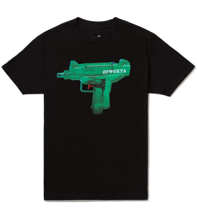 Black OFWGKTA Water Gun Uzi T-Shirt