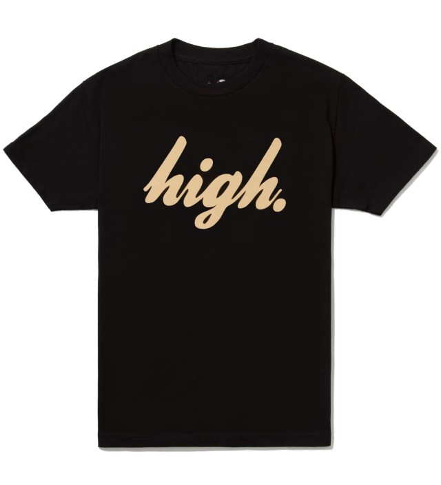 Black High T-Shirt