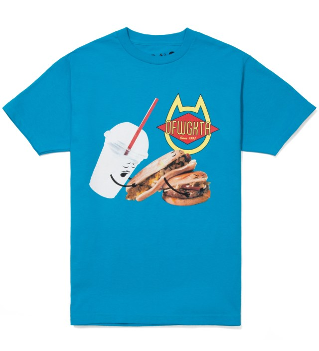 Blue Shake, Hot Dog, Hamburger Summer 2012 T-Shirt