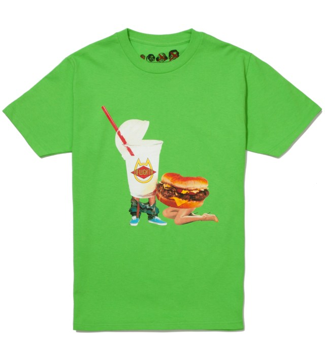 Lime Green Milkshake Head Summer 2012 T-Shirt