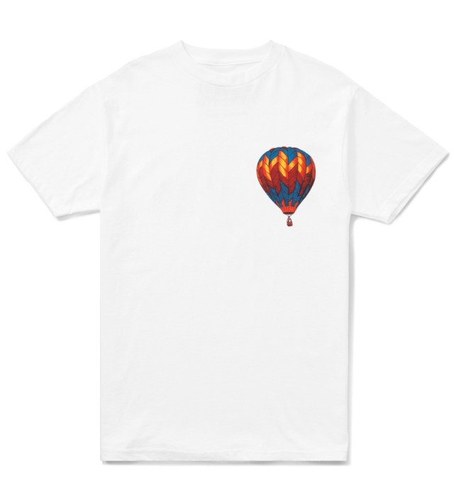 White Hot Air Balloon T-Shirt