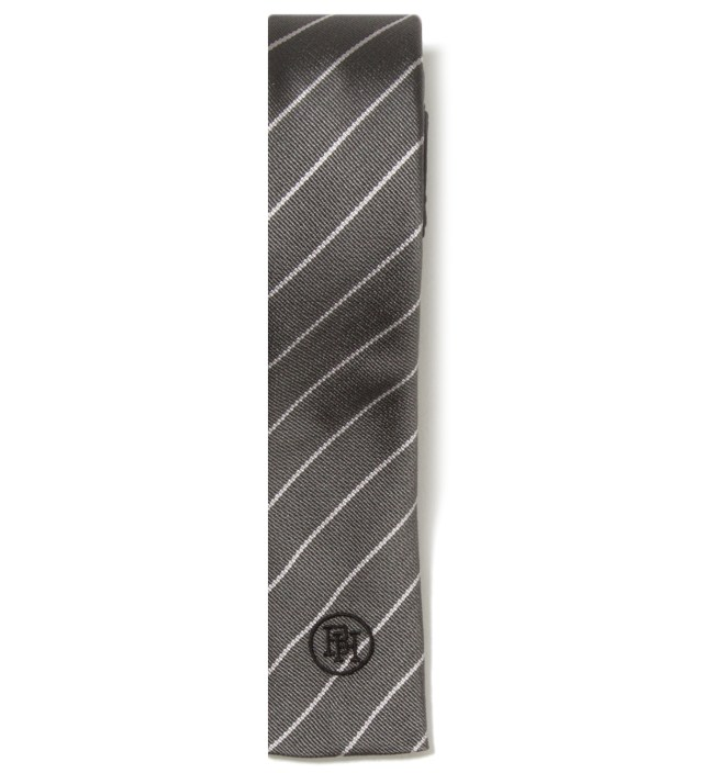 "Stussy x The Heartbreakers Grey ""David"" Two-Ways Tie"