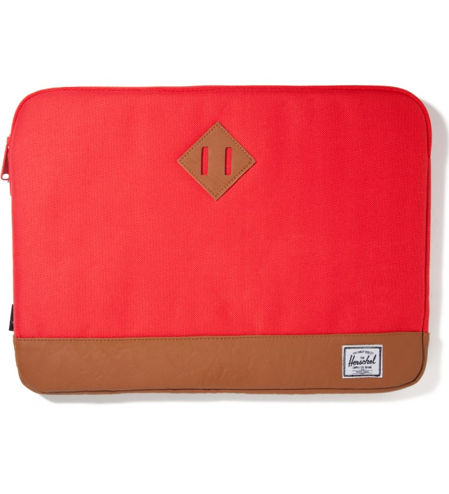 "Red Heritage 15"" Macbook Sleeve"