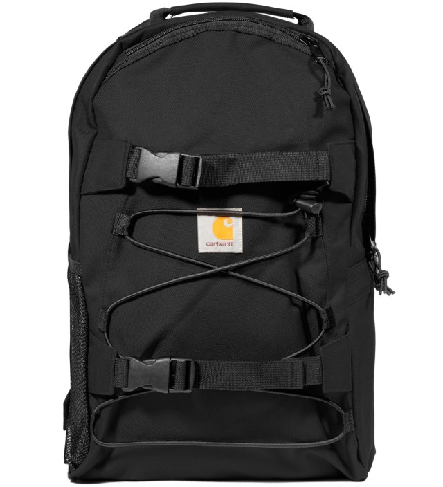 Black Kickflip Backpack