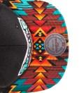 Vancouver Grizzlies Blue Navajo Strap-Back Hat