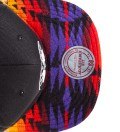 Brooklyn Nets Red Navajo Strap-Back Cap
