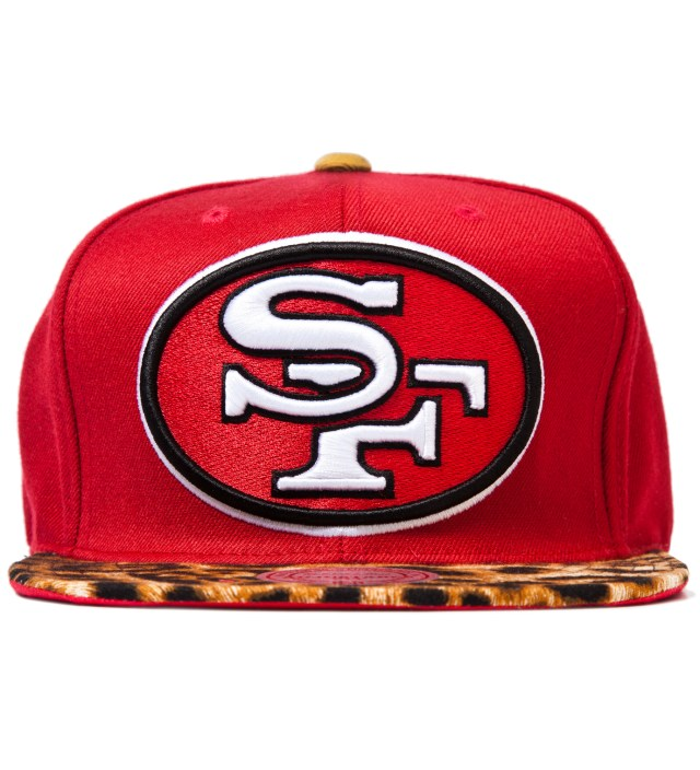 San Francisco 49ers Cheetah Strap-Back Cap