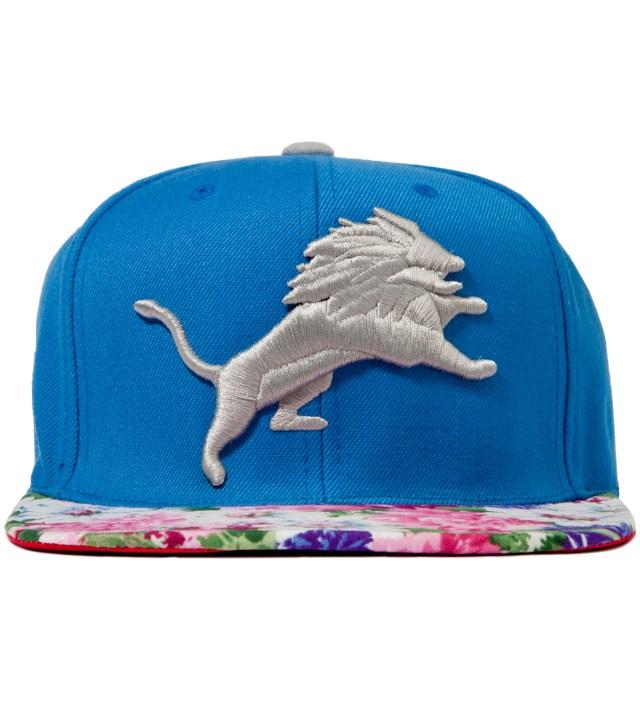 Detroit Lions Floral Strap-Back Cap