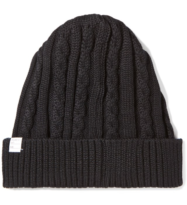 Black Feather Beanie