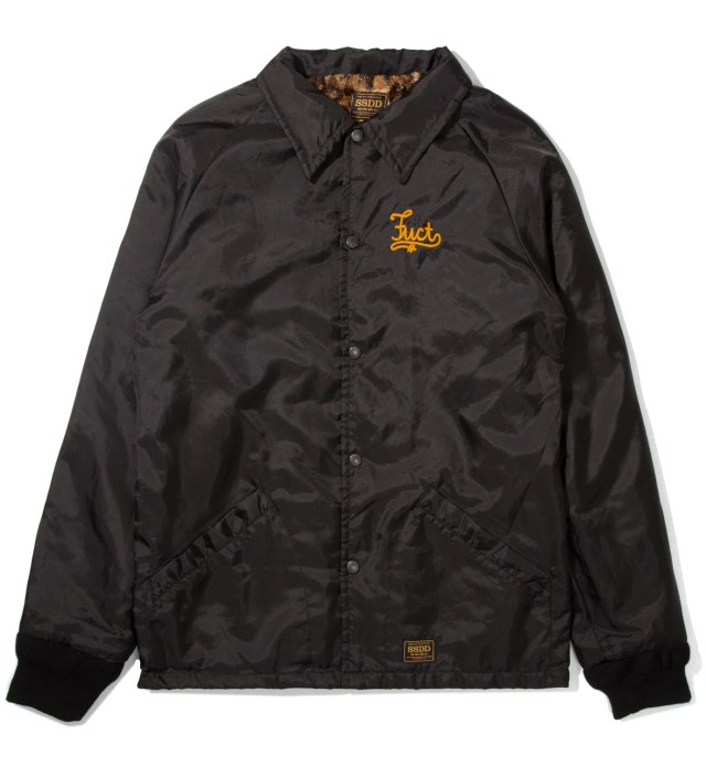 Black FUCT Co. Windbreaker