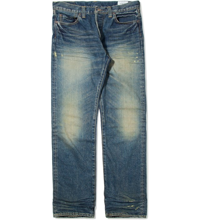 Wash SSDD Selvedge Narrow Denim Jeans