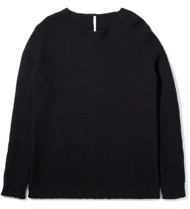 Black Kallo Round Neck Jumper