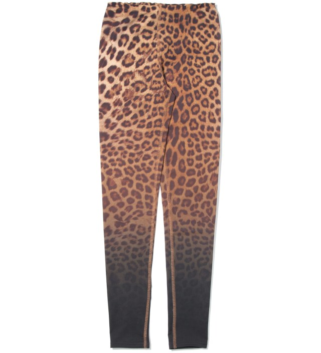 Yellow Leopard Leggings