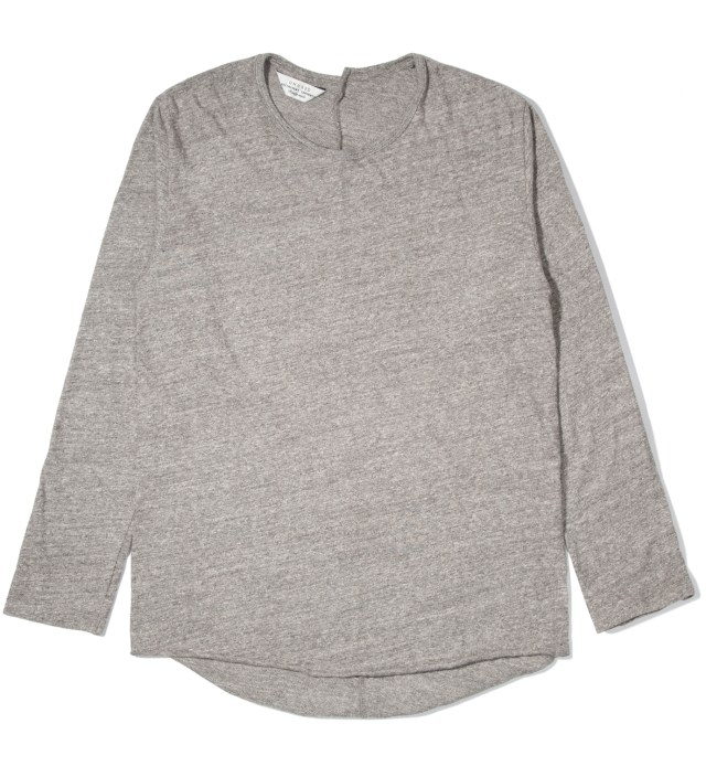 Heather Grey Long Sleeve T-Shirt