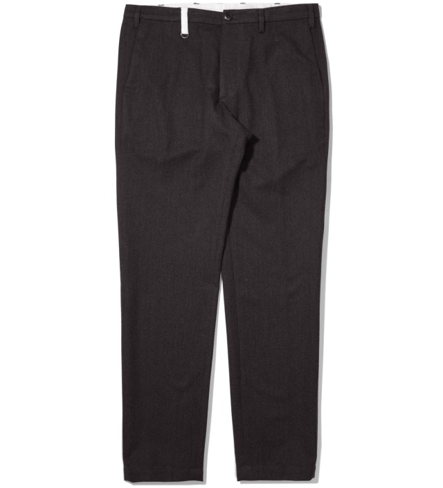 Charcoal Classic Slacks Pants