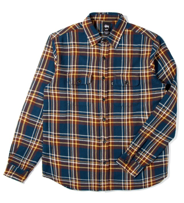 Navy Coronado Plaid Shirt