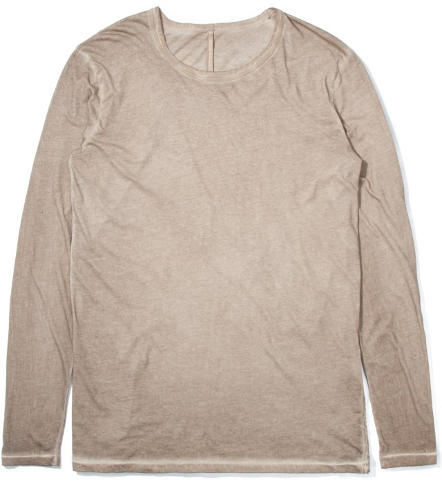 Light Brown Tanta Basic Long Sleeve T-Shirt
