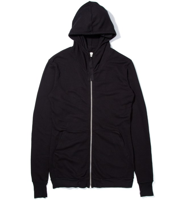 Black Tribal Basic Zip Hoody