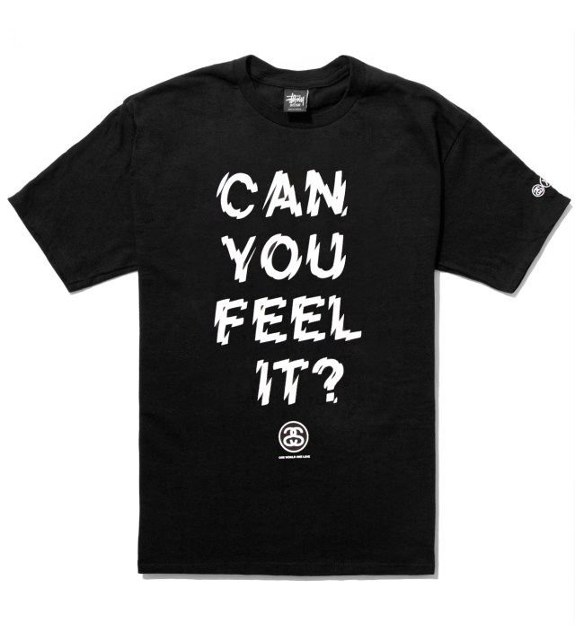 Black Can You Feel It? T-Shirt