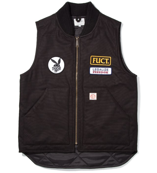 Black SSDD Legalize Freedom Vest