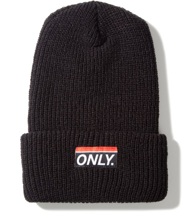 Black Subway Beanie