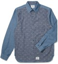 Blue SSDD Paisley Chambray Shirt
