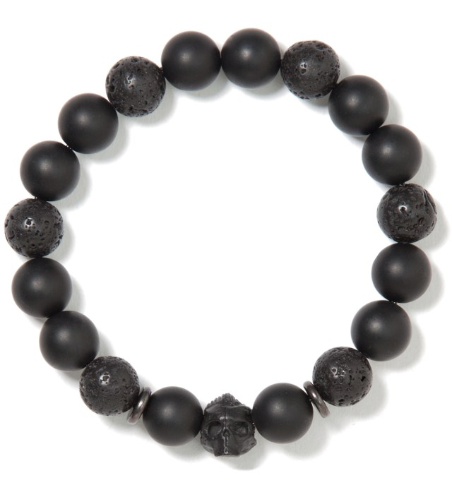 Black and Black DS- Beaded Bracelet