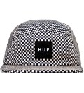Black Checkered Volley Cap