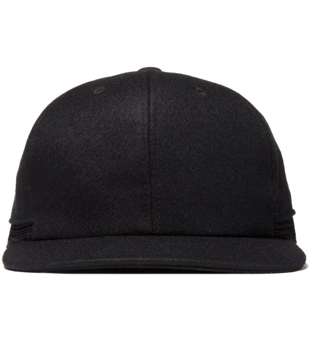 Black Layered Cap