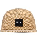 Yellow Checkered Volley Cap