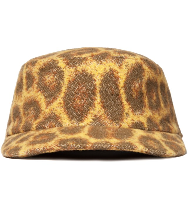 Yellow Leopard Work Cap