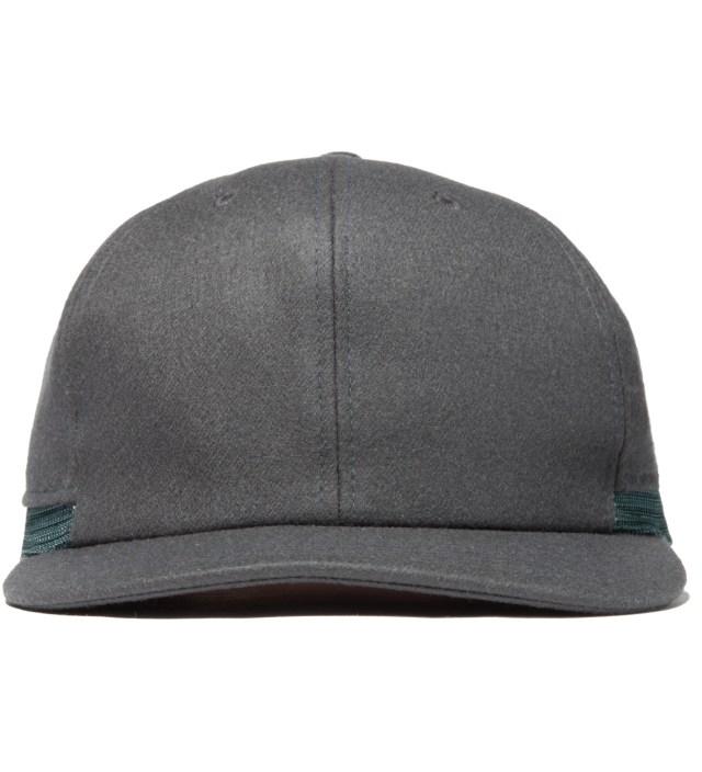 Gray Layered Cap