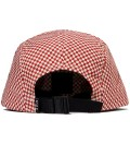 Red Checkered Volley Cap