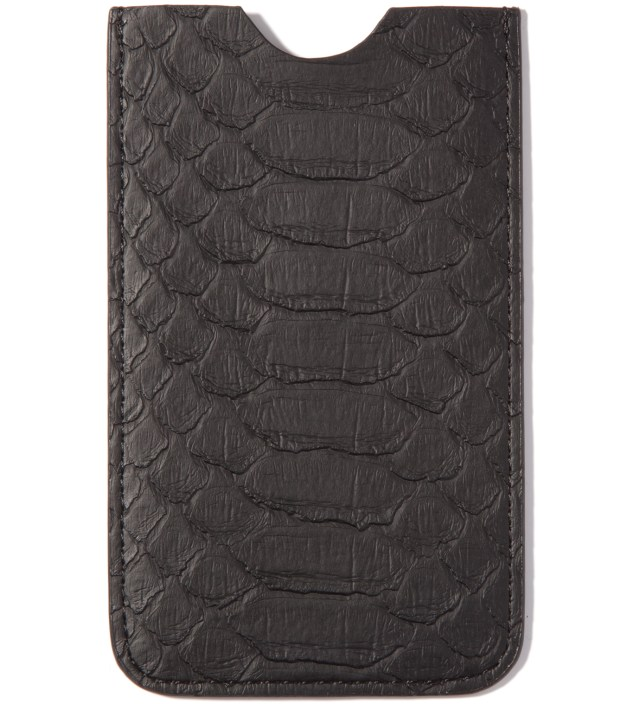 Stevin Gold x Mister Black Snakeskin Iphone Case