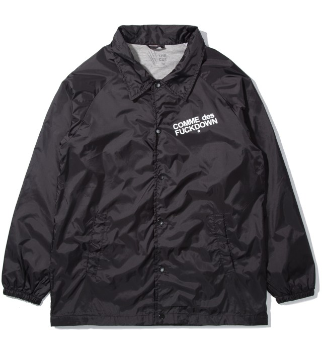 Black Comme Des Fuckdown Jacket