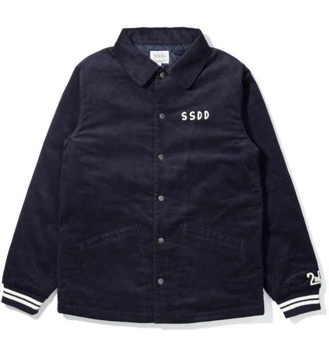 "Navy SSDD ""2nd A"" Corduroy Jacket"