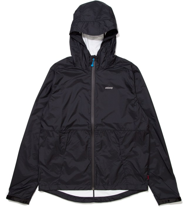 Black Pinnacle Tech Hood Jacket
