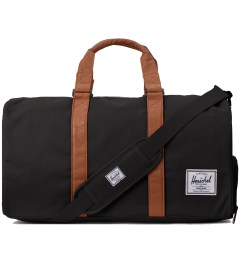 Herschel Supply Co. Black/Tan Novel Bag  Picutre