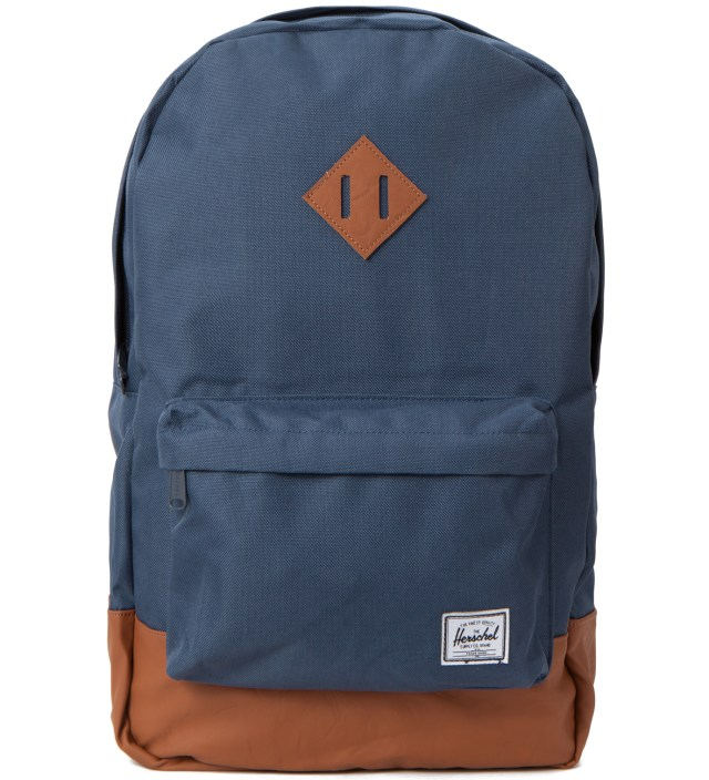 Navy/Tan Heritage Backpack